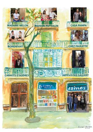 Jaimes vous invite à découvrir son marché de Noël : Le km 0 se fédère