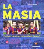"""Presentació del llibre """"La Masia, formant persones més enllà de l'esport"""" del periodista Cristian Martín"""