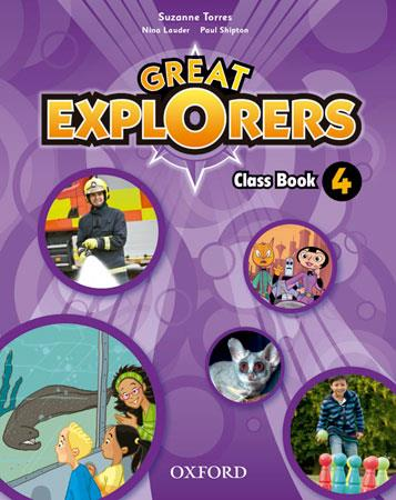 GREAT EXPLORERS 4: CLASS BOOK PACK  | 9780194507684