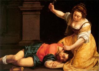 Conférence : Artemisia Gentileschi, Yaël et Sirera : l'ancien testament au coeur d'un tableau