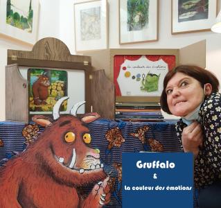 Reporté au 8 mai J'aime les samedis : Poulette Sabrina et Gruffalo & la couleur des émotions! à 12h30 et à 16h30