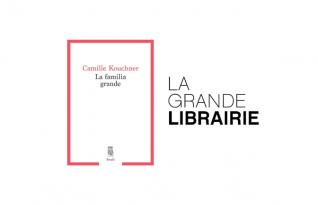 """Camille Kouchner invitée de """"La Grande librairie"""" le 13 janvier à 20h50"""