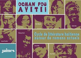 Cycle de littérature haïtienne : Ochan pou Ayiti!