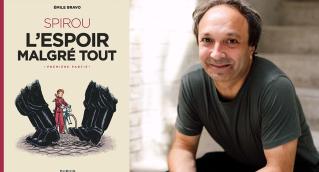 """Conversation avec Emile Bravo, auteur de """"Spirou : l'espoir malgré tout""""  chez Dupuis"""