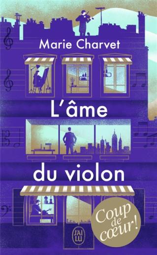 """Club de lecture : Marque-page : """"L'âme du violon"""" de  Marie Charvet"""