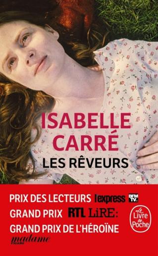 """Club de lecture : Marque-page 50 : """"Les rêveurs"""" d'Isabelle Carré"""
