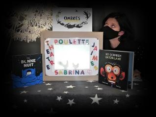"""J'aime les samedis avec Sabrina :  """"NOIR – Contes & Jeux d'ombres"""""""